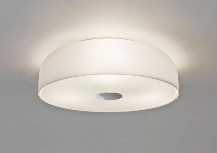 Astro syros 350 7189 round dome opal glass bathroom ceiling light 3x40w e27 ip44
