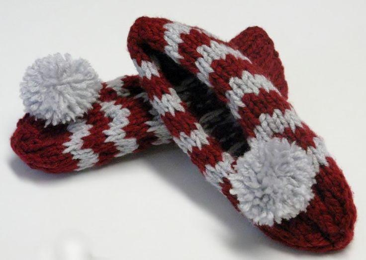 Même si ce modèle comporte des mailles à l'envers, il est très facile à réaliser ! J'ai tricoté en fil double (avec 2 fils en même temps) mais ce n'est pas essentiel. Version impr…