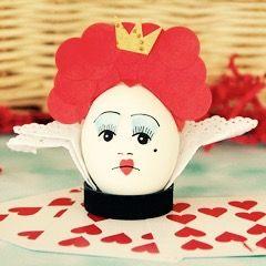 Huevo de Pascua de la Reina Roja