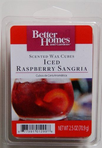 Better Homes And Gardens Iced Raspberry Sangria Wax Cubes Better Homes U0026  Gardens Http:/