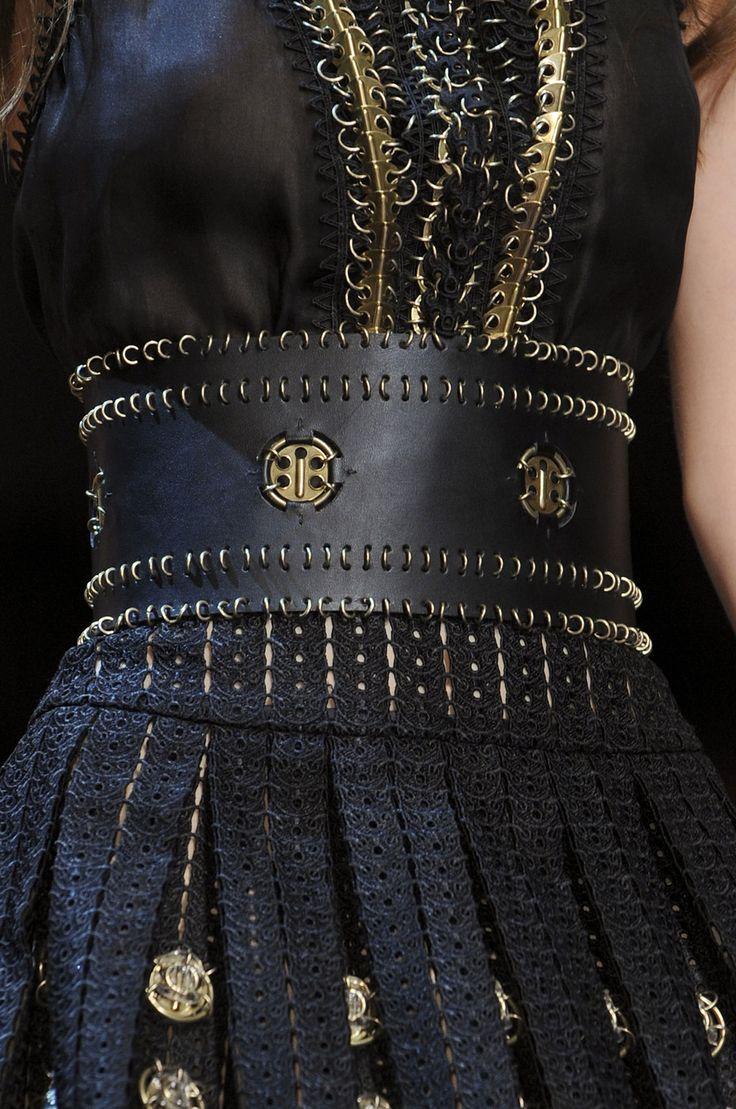 Details: Paco Rabanne at Paris Fashion Week Spring 2013