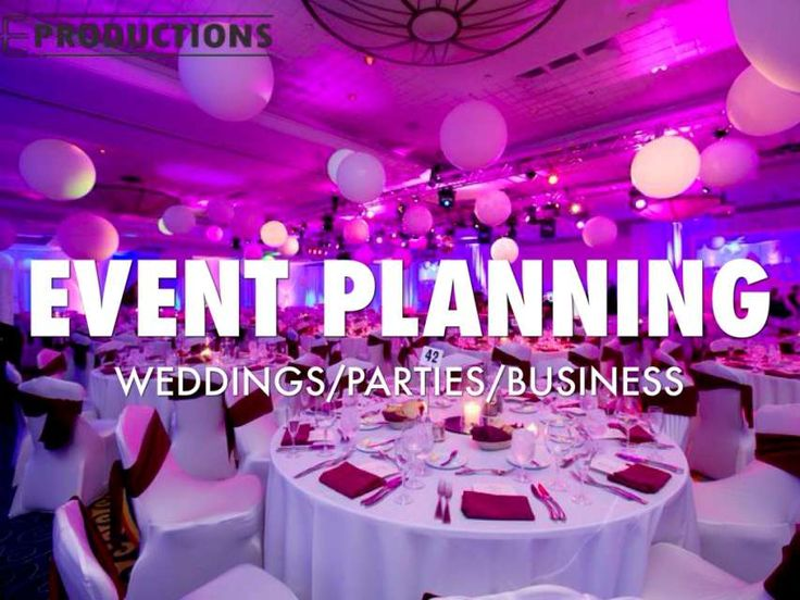 Best Best Event Planner In USA Images On   Event