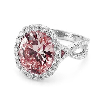 Pink Engagement Rings: Get the Look | Engagement Rings | Brides.com : Brides