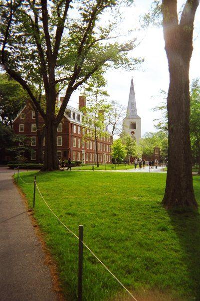 Harvard University, Cambridge, Massachusetts, USA... well, I sort of did that.