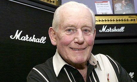 Jim Marshall (Londra, 29 luglio 1923 – Londra, 5 aprile 2012): Pioniere dell'amplificazione delle chitarre, la sua azienda, la Marshall Amplification, produce amplificatori sin dagli anni '60.