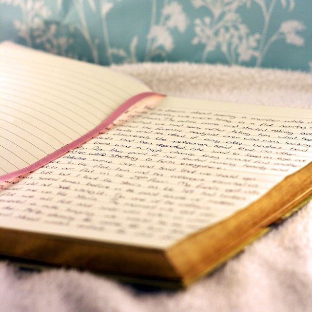 Dream diary. #dreams #diary #notebook
