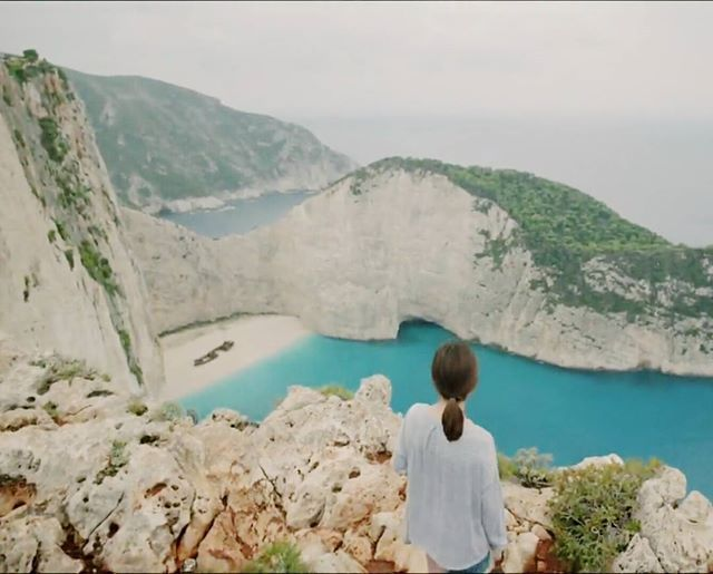 Goodbye Urk Goodbyeurk Dots Descendantsofthesun Place Nature Beach Romance Navagio Shipwreckbeach Greece Yunani Beautiful Blue