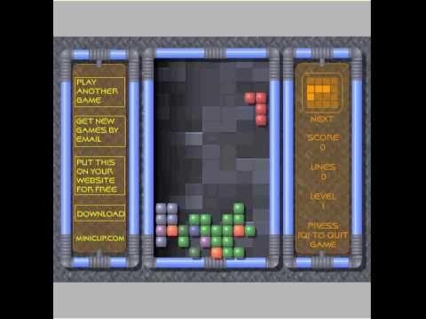 Miniclip Tetris Kostenlos Online Spielen   YouTube