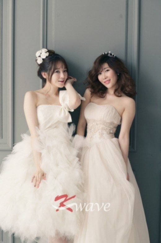 Davichi turn into May brides for 'K-Wave'