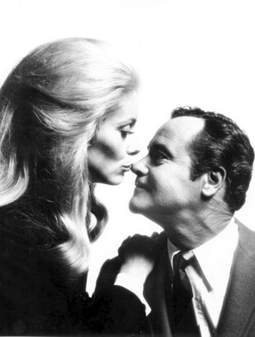 "european-cinema-deactivated2013: ""  Catherine Deneuve and Jack Lemmon, The April Fools (1969) """