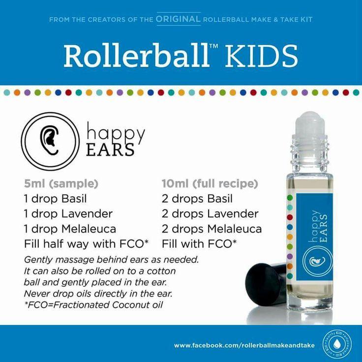 Happy Ears Rollerball recipe
