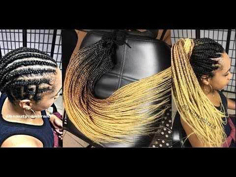 HOW TO PRE BRAIDED BOX BRAID [Video]  Read the article here - http://www.blackhairinformation.com/uncategorized/pre-braided-box-braid-video/