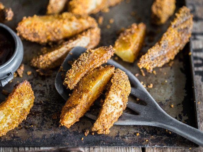 Knusprig-würzige Kartoffelecken vom Blech