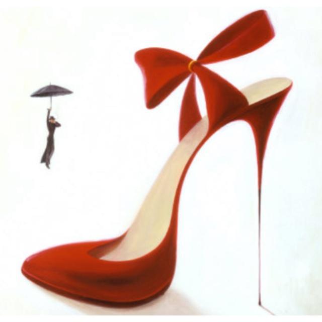 High heel tattoo :)