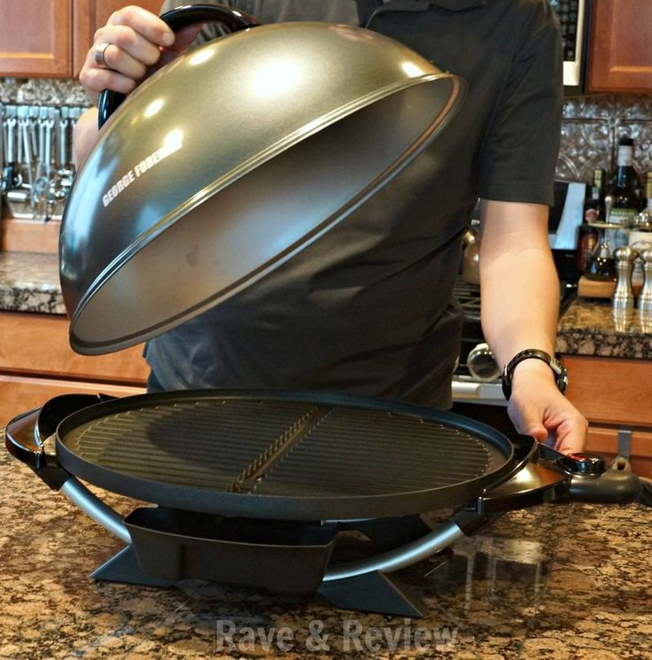 Can't grill outdoors? Bring the grill indoors with George Foreman Indoor/Outdoor Electric Grill (ad)