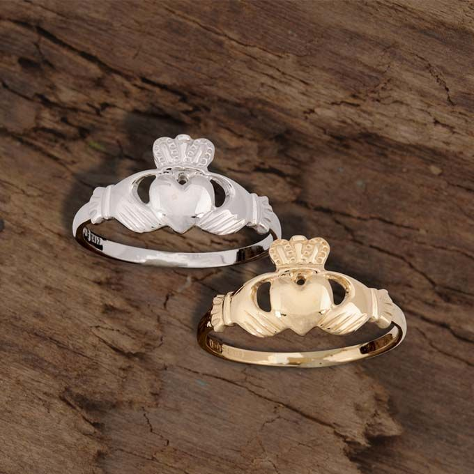 The 25 best Gold claddagh ring ideas on Pinterest