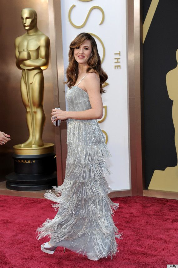 Jennifer Garner's Oscar Dress 2014 Is Perfect For Twirling (PHOTOS)