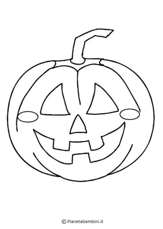 30 Disegni Di Zucche Di Halloween Da Stampare E Colorare Autunno