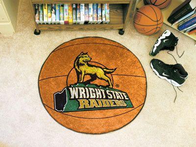 Wright State University Basketball Mat