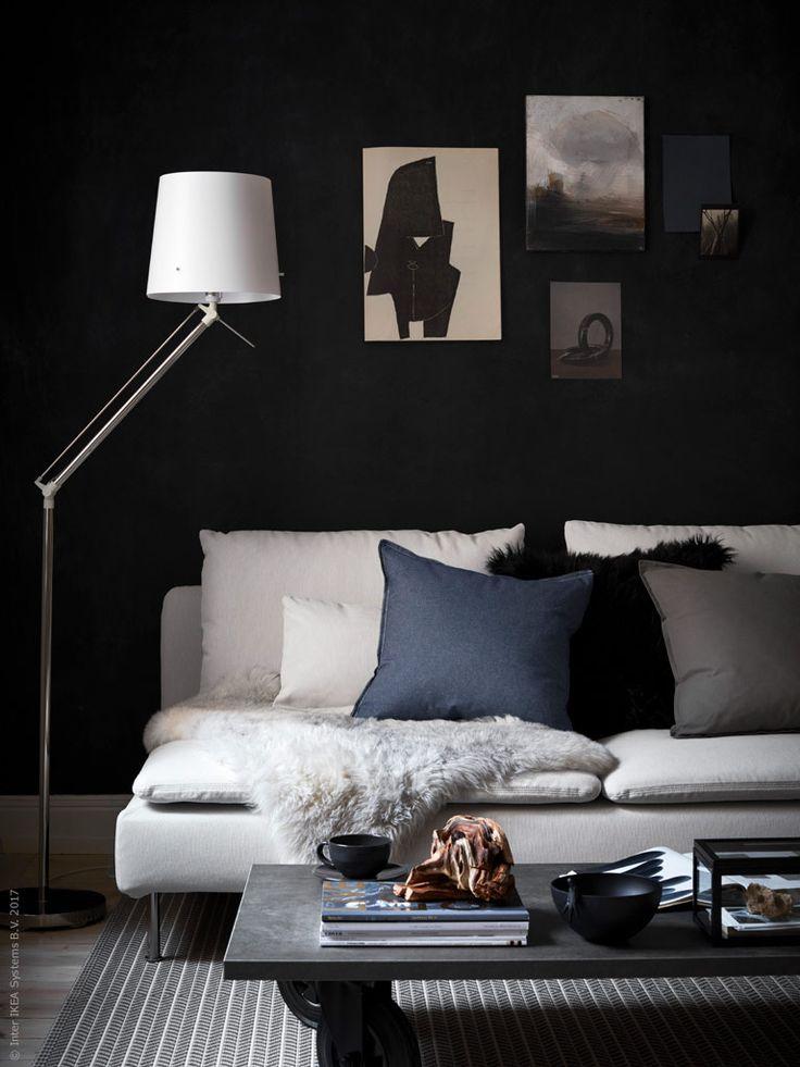 Här vill jag tipsa om en för mig nyupptäckt och jättefin lampa, SAMTID golv/läslampa i förnicklad vit.