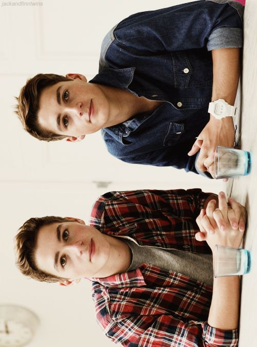 Just watched some of their videos on yt :) Jack and Finn Harries #jacksgap #twins