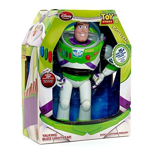 Disney Advanced Talking Buzz Lightyear Action Figure 12″ (Official Disney Product)