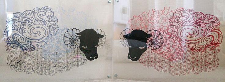 切り絵「花鳥風月」孔雀1 の画像|コトコト切り絵中