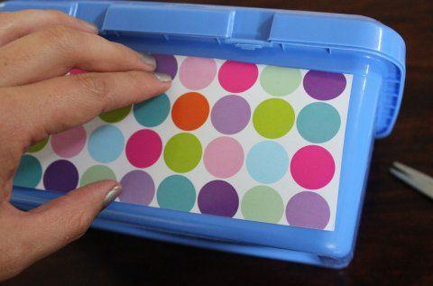 Cómo decorar una caja para pañitos húmedos | Blog de BabyCenter