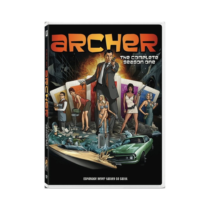 Archer: Season 1: Amazon.ca: H. Jon Benjamin, Judy Greer, Amber Nash, Chris Parnell, Aisha Tyler, Jessica Walter, Adam Reed, Lucky Yates, George Coe, Peter Newman, Dave Willis, Maggie Wheeler, Casey Willis, Craig Hartin, Boswell Cocker, Matt Thompson, Tony Carbone: DVD