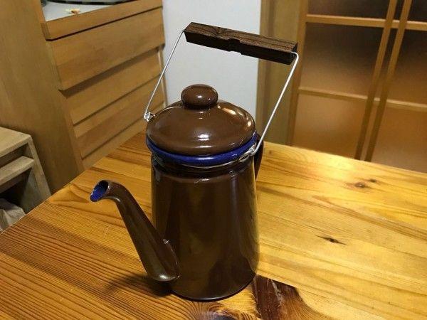Diy ニトリケトルをちょこっと改造 続 のんびりな日々 2020 キャンプコーヒー ニトリ 改造