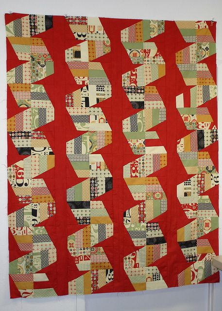 Fast Forward in Circa 1934 by Stitch-n-Lounge, via Flickr jaybird quilts