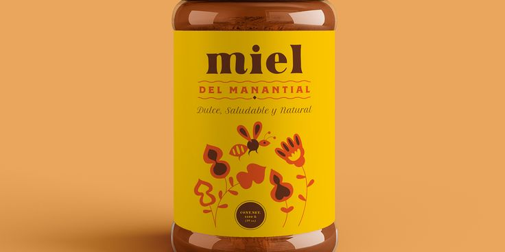 This Honey Packaging is Giving Off Some Sunny Vibes — The Dieline | Packaging & Branding Design & Innovation News