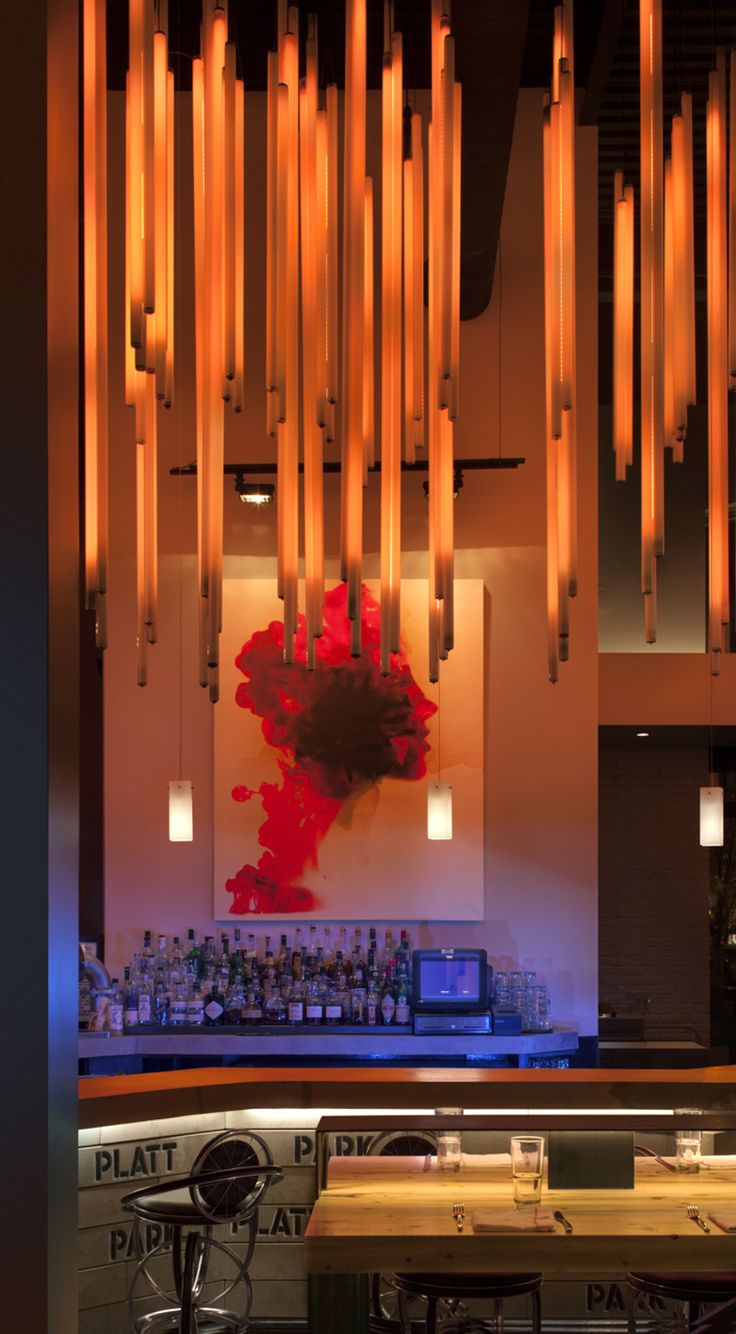 Session Kitchen Restaurant Denver Designed By Bldgcollective Im In Love With LightingRestaurant DesignCommercial