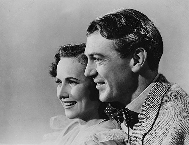 Gary Cooper and Teresa Wright in The Pride of the Yankees (1942)