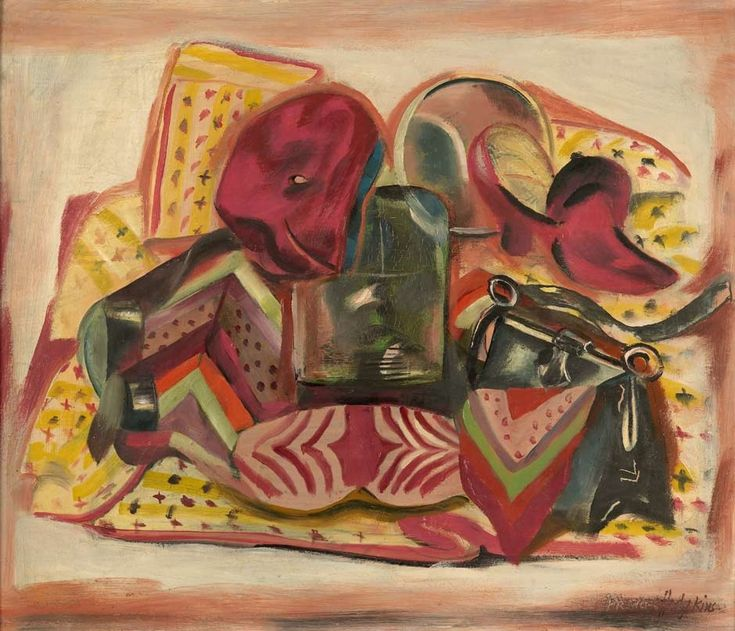 Still life: self-portrait by Frances Hodgkins | NZHistory, New Zealand history online