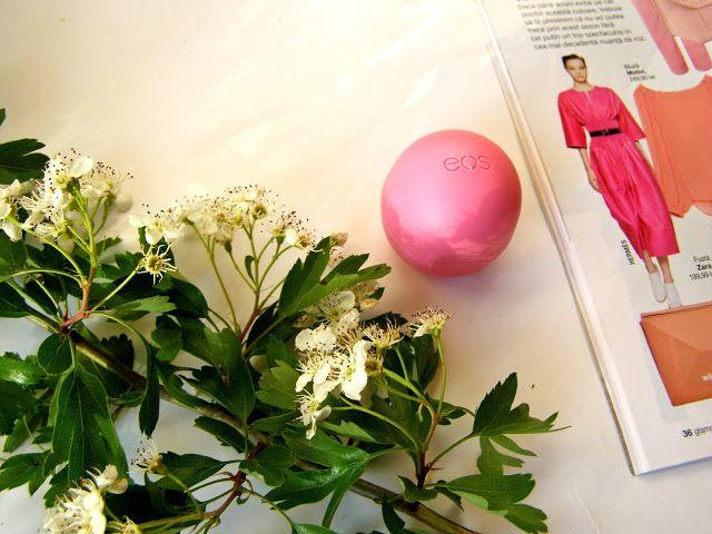 Balsam de buze EOS - buze dulci și catifelate - recenzie
