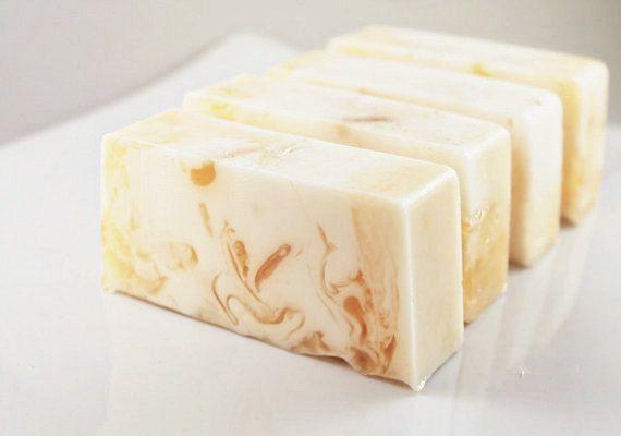 SOAP - Honey Almond all natural Handmade Soap. $5.00, via Etsy.