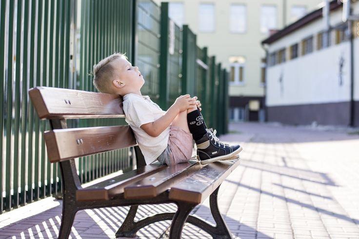 back to school, handsom man, little boy, classic