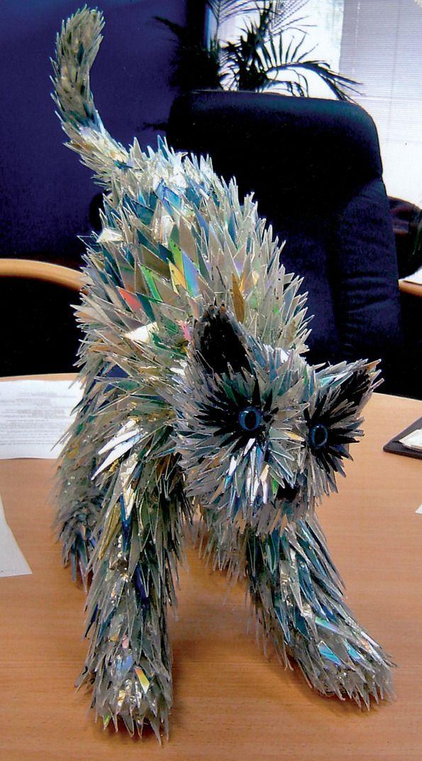 Sean Avery.Made from broken CDs!