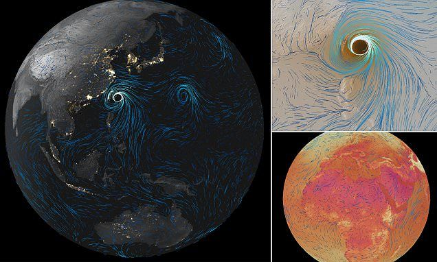 Watch the world's winds in REAL-TIME