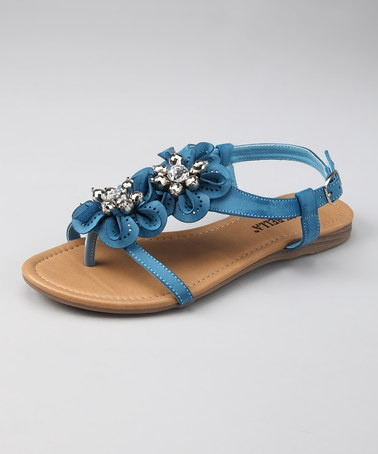 Take a look at this Blue Rosa 2 Sandal by RCK Bella on #zulily today!