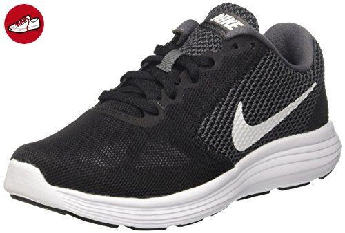 Nike Damen Revolution 3 Traillaufschuhe, Schwarz (Dark Grey/White Black), 36.5 EU - Nike schuhe (*Partner-Link)