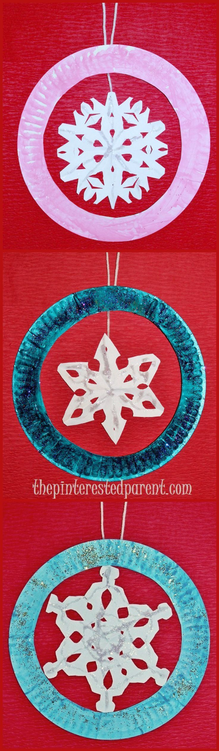Snowflake Crafts With Paper