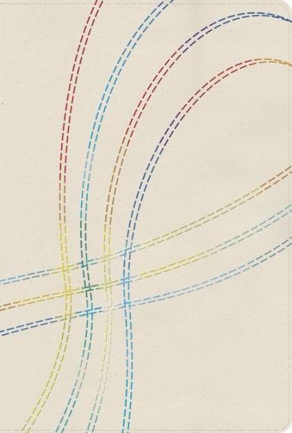 Biblia de Est. Arco Iris RVR 1960, Tela Bordado Multicolor, Ind. (RVR 1960 Rainbow Study Bible, Multicolor Stitch Cloth, Ind.)