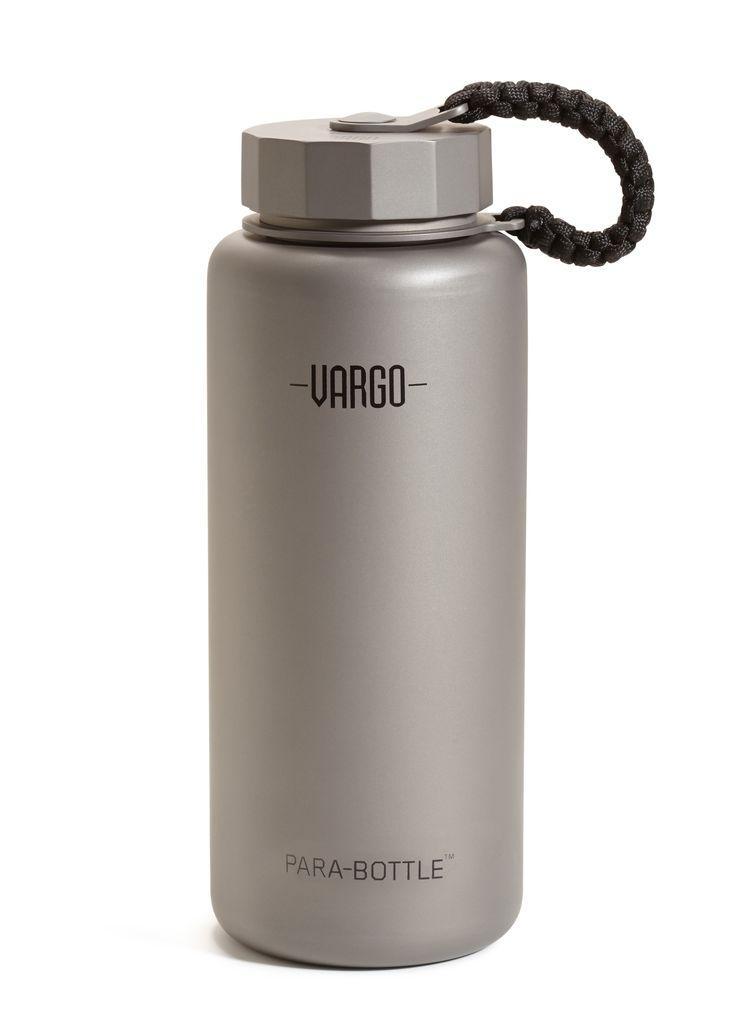 Vargo Titanium Para-Bottle EDC