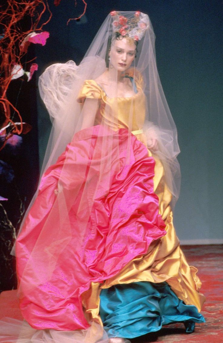 """femmequeens: """" Christian Lacroix Spring/Summer 1999 Haute Couture """""""