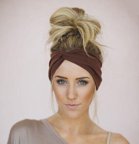 headband short hair ideas