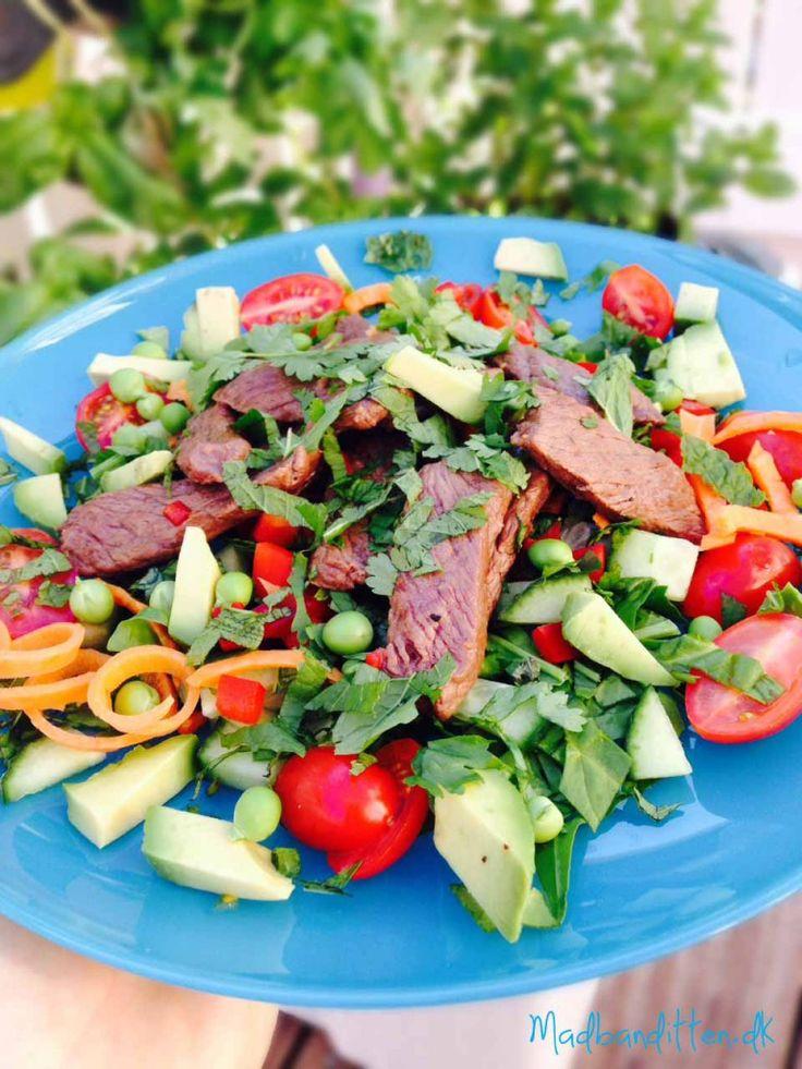 Thai Beef Salad LCHF
