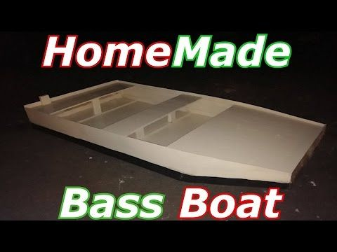 Homemade Bass Boat Under $100, Easy, Inexpensive How-To - YouTube