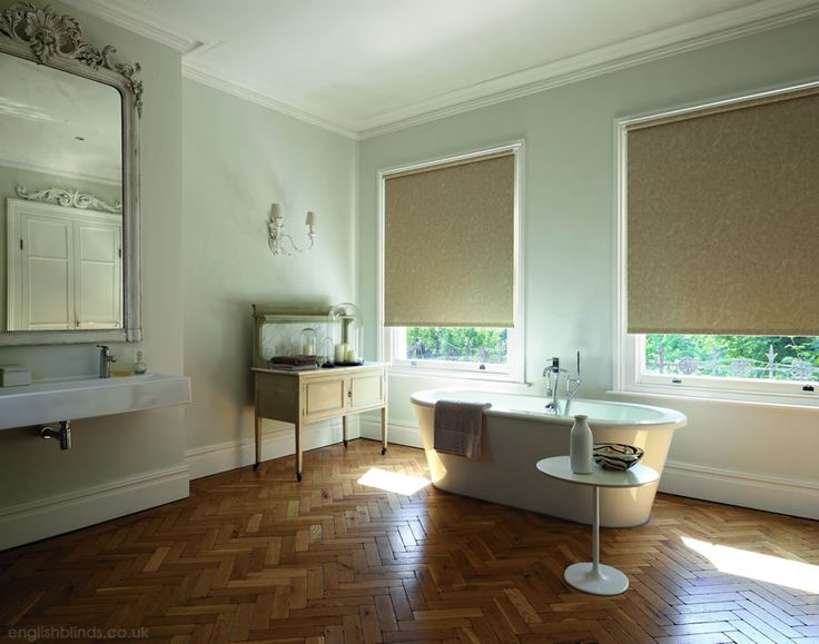 Fabulous cream and brown patterned waterproof bathroom roller blinds roller blinds pinterest - Bathroom shades waterproof ...